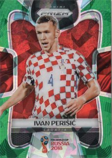 PANINI 2018 Prizm World Cup Green Crystals Parallel Ivan Perisic 【25枚限定】 MINT神田店 駿河様
