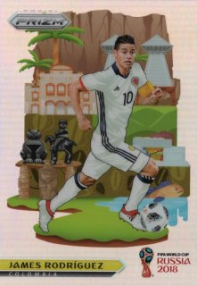 PANINI 2018 Prizm World Cup National Landmarks James Rodriguez MINT神田店 駿河様