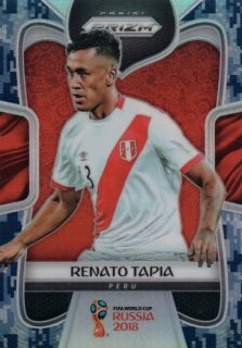 2018 Prizm World Cup Camo Parallel Base Renato Tapia 【20枚限定】 / MINT池袋店 デットーリ様