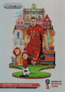 2018 Prizm World Cup National Landmarks Kevin De Bruyne / MINT池袋店 デットーリ様