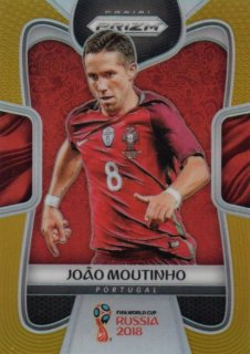 2018 Prizm World Cup Gold Parallel Base Joao Moutinho 【10枚限定】 / MINT池袋店 デットーリ様