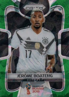 2018 Prizm World Cup Green Crystals Parallel Base Jerome Boateng 【25枚限定】 / MINT池袋店 OH様