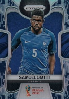 2018 Prizm World Cup Camo Parallel Base Samuel Umtiti 【20枚限定】 / MINT池袋店 OH様