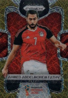 2018 Prizm World Cup Gold Lazer Parallel Base Ahmed Abdelmonem Fathy 【15枚限定】 / MINT池袋店 OH様