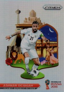 2018 Prizm World Cup National Landmarks Ashkan Dejagah / MINT池袋店 OH様