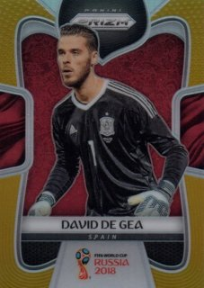 2018 Prizm World Cup Gold Parallel Base David De Gea 【10枚限定】 / MINT池袋店 OH様