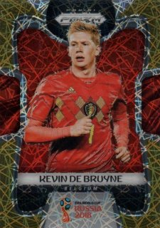 2018 Prizm World Cup Gold Lazer Parallel Base Kevin De Bruyne 【15枚限定】 / MINT池袋店 OH様
