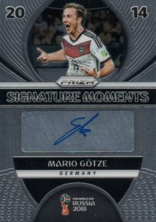 2018 Prizm World Cup Signature Moments Mario Gotze / MINT池袋店 OH様