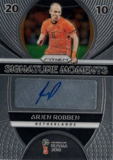 2018 Prizm World Cup Signature Moments Arjen Robben / MINT池袋店 OH様
