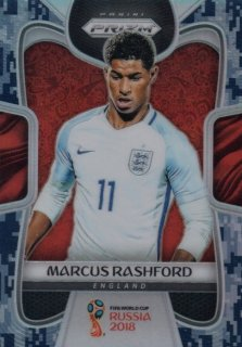 2018 Prizm World Cup Camo Parallel Base Marcus Rashford 【20枚限定】 / MINT池袋店 OH様