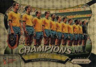 2018 Prizm World Cup Gold Power Parallel Champions Brazil (1970 Mexico) 【5枚限定】 / MINT池袋店 OH様