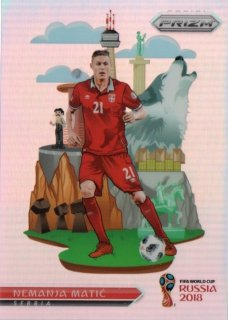 2018 Prizm World Cup National Landmarks Nemanja Matic / MINT池袋店 OH様