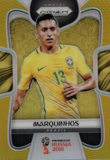 2018 Prizm World Cup Gold Parallel Base Marquinhos 【10枚限定】 / MINT池袋店 KZY様