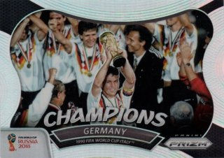 2018 Prizm World Cup Champions Germany (1990 Italy) / MINT池袋店 KZY様