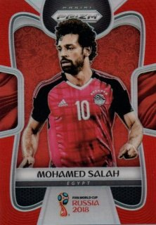 2018 Prizm World Cup Orange Parallel Base Mohamed Salah 【10/65 Jersey NO.】 / MINT池袋店 KZY様