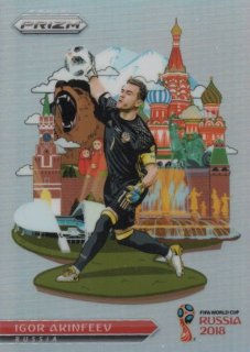 2018 Prizm World Cup National Landmarks Igor Akinfeev / MINT池袋店 ST様