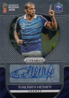 2018 Prizm World Cup Signatures Thierry Henry / MINT池袋店 HIRO様