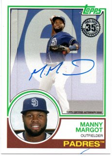2018 Topps '83 Silver Pack Autograph Manny Margot MINT梅田店 ???様