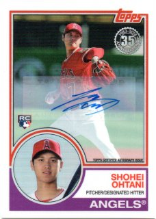 2018 Topps '83 Silver Pack Autograph Shohei Ohtani【25枚限定 RC】MINT梅田店 ITSUKI推し様