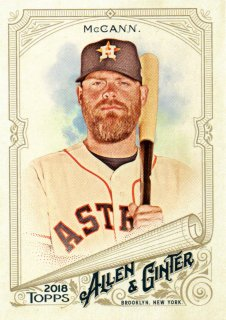 2018 Topps Allen & Ginter Glossy Parallel Brian McCann【1of1】MINT梅田店 ITSUKI推し