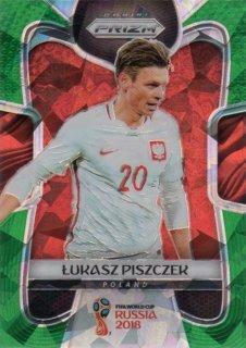 2018 PANINI PRIZM World Cup Prizms Green Crystals Lukasz Piszczek【25枚限定】/ MINT千葉店 タスク様