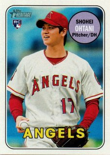 2018 TOPPS Heritage Action Variations #17 SHOHEI OHTANI / MINT横浜店 AKATEN様