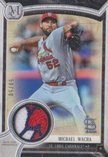 2018 Museum Collection 「Michael Wacha」 パッチ【50枚限定】ポニーランド FF様
