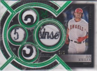 2018 Museum Collection Logo Patch Card  Ian Kinsler【1枚限定】ポニーランド MM様