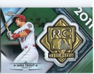 2018 TOPPS TOPPS CHROME Rookie Debut Medallion Crad 「Mike Trout」 [限定99枚] ミントJAC小田原店 マーくん 様