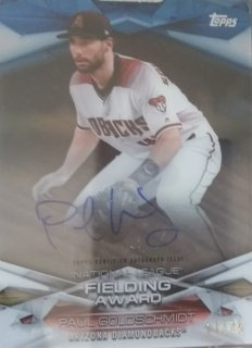 2018 TOPPS CLEARLY FIELDING AWARD Paul Goldschmidt 【25枚限定】 ミント吉祥寺店 わだ様
