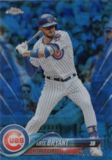 2018 TOPPS CHROME Blue Wave Refractors Kris Bryant【75枚限定】/ MINT千葉店 やまっち様