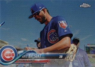 2018 TOPPS CHROME Variations Refractors Kris Bryant/ MINT千葉店 やまっち様