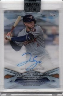 2018 TOPPS CLEARLY AUTHENTIC MLB Awards Autographs George Springer/ MINT千葉店 Tony様