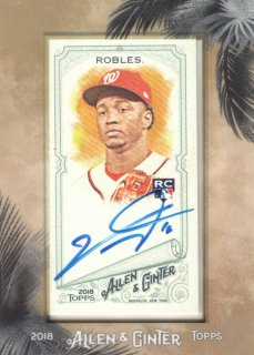 2018 Topps Allen and Ginter Victor Robles RC Autographs / MINT吉祥店 イエティ様