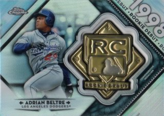 2018 TOPPS CHROME Rookie Debut Medal Adrian Beltre/ MINT千葉店 Tony様