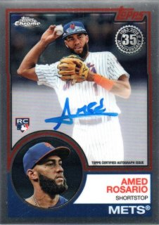 2018 Topps Chrome Rookie Autograph Amed Rosario MINT梅田店 ディック様