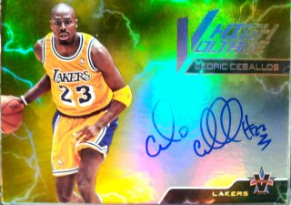 2017-18 Panini Vanguard High Voltage Signatures Gold Cedric Ceballos【10枚限定】ミント札幌店 カビー様