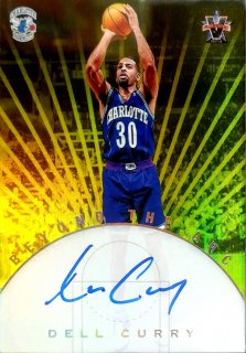 2017-18 Panini Vanguard Beyond the Arc Scripts Gold Dell Curry【10枚限定】ミント札幌店 カビー様