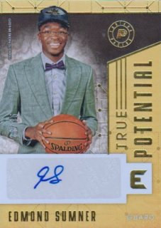 2017-18 PANINI ESSENTIALS True Potential Signatures(Gold)  Edmondo Summer 【35枚限定】 / ポニーランド FF様