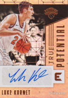 2017-18 PANINI ESSENTIALS True Potential Signatures  Luke Kornet 【49枚限定】 / ポニーランド MM様