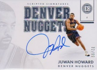2017-18 PANINI ENCASED Scripted Signatures  Juwan Howard  【99枚限定】 / ポニーランド FF様