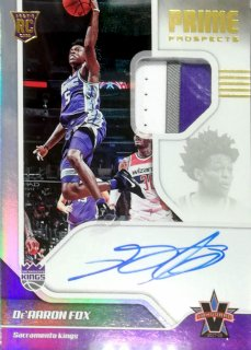 2017-18 Panini Vanguard Prime Prospects Signatures De'Aaron Fox【99枚限定】ミント札幌店 キング様
