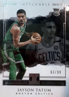 2017-18 Impeccable Base Card (Rookie) Jayson Tatum 【99枚限定】 / MINT池袋店 Y文様