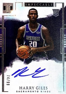 2017-18 Impeccable Rookie Autographs Harry Giles 【99枚限定】 / MINT池袋店 テラ京様