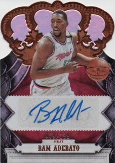 17-18 Panini Crown Royale Rookie Crown Autograph Bam Adebayo【199枚限定】MINT梅田店 ジョーダン様