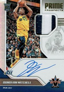 2017-18 VANGUARD Patch Auto Donovan Mitchell 【99枚限定】えびすスポーツカード 〇山様