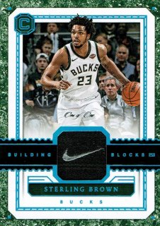 2017-18 CORNERSTONES Tag Patch Sterling Brown【1枚限定】えびすスポーツカード RASTA MONSTA様