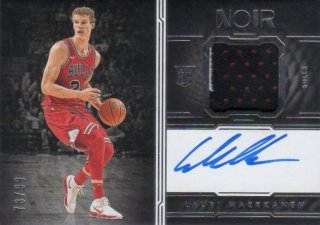 2017-18 PANINI NOIR Rookie Patch Autographs Color Lauri Markkanen【99枚限定】/ MINT千葉店 WT様