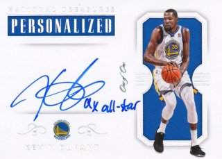 Rookie Star RS2様 2017-18 PANINI NATIONAL TREASURES Inscription Auto Kevin Durant 1枚限定