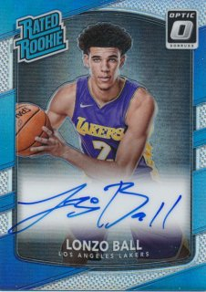 Rookie Star RS3様 2017-18 PANINI DONRUSS OPTIC RC Signature Auto Lonzo Ball